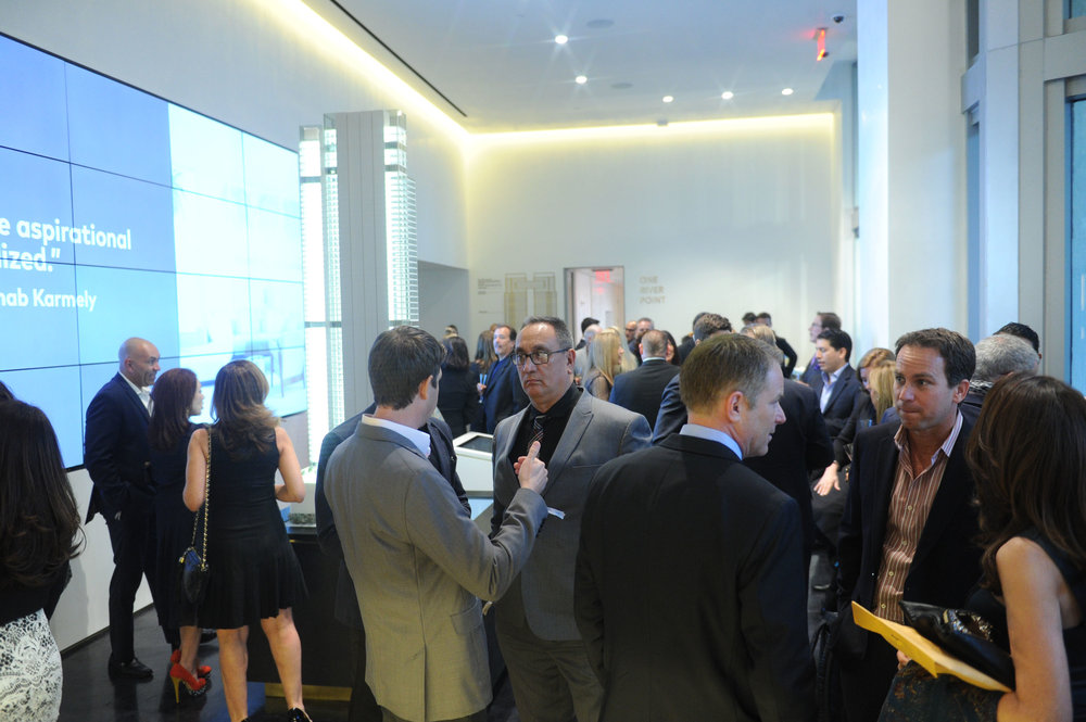 One River Point Launch Sales Gallery Downtown Miami