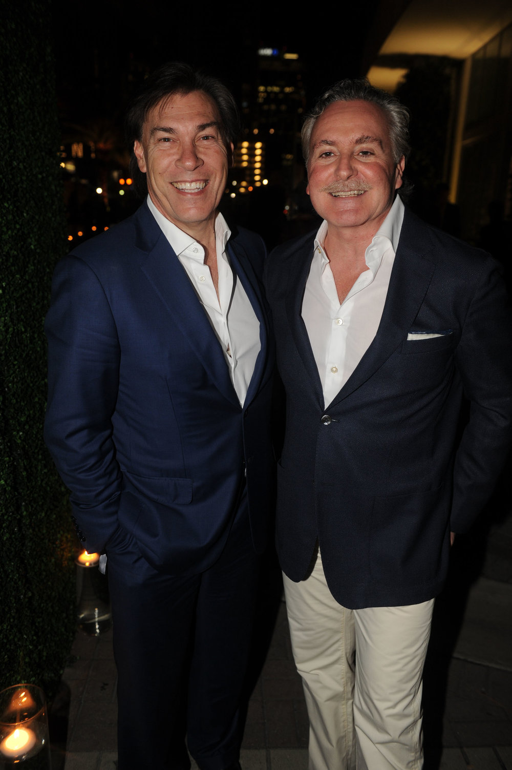 Edgardo Defortuna and Shahab Karmely One River Point Sales Gallery Grand Opening