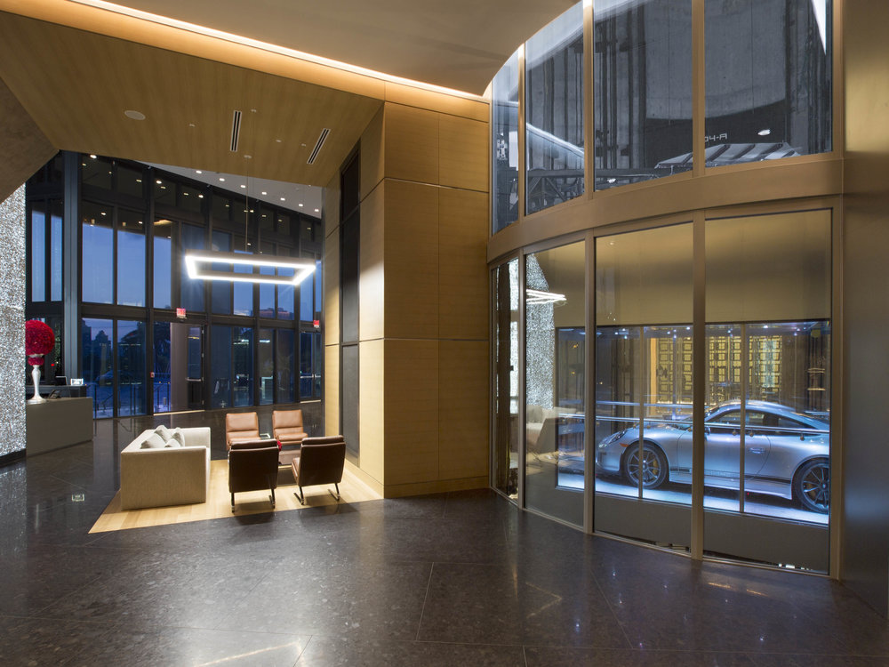 Lobby Tour the NEW First-of-Its-Kind Porsche Design Tower Miami from Dezer Development and Porsche Design in Sunny Isles Beach