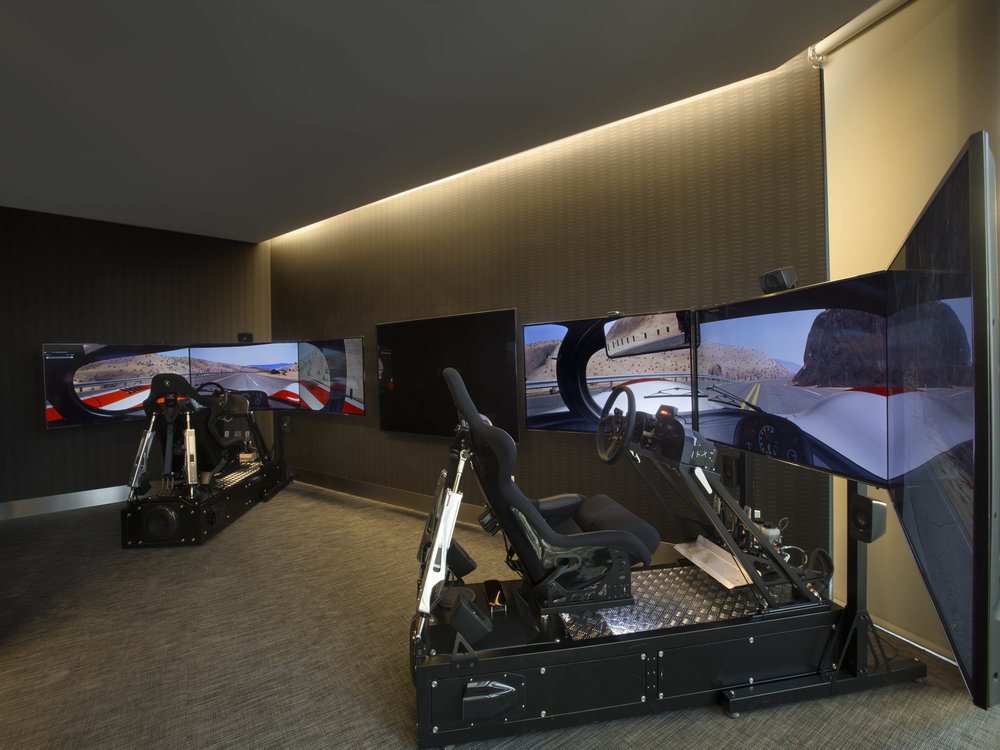 Race Simulator Tour the NEW First-of-Its-Kind Porsche Design Tower Miami from Dezer Development and Porsche Design in Sunny Isles Beach