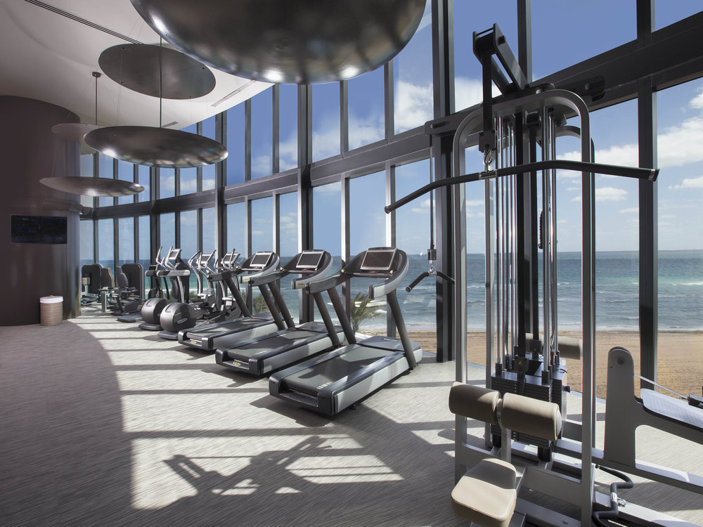 Gym Tour the NEW First-of-Its-Kind Porsche Design Tower Miami from Dezer Development and Porsche Design in Sunny Isles Beach