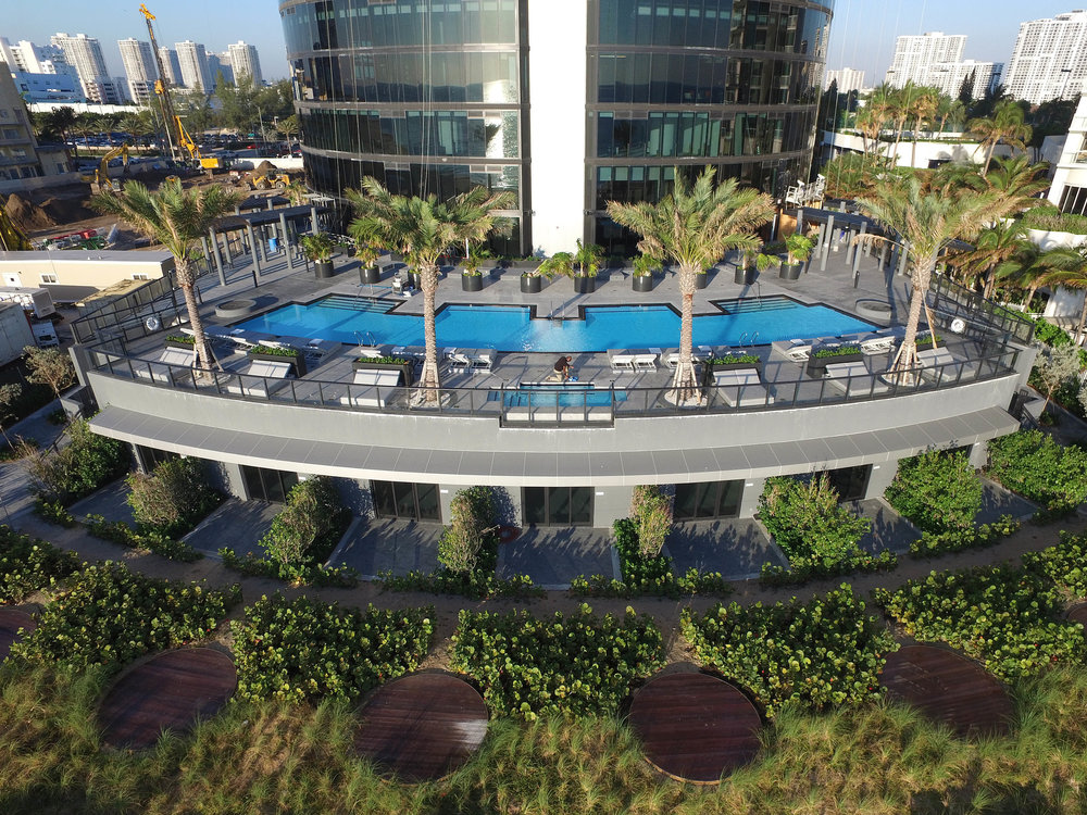 The Pool Tour the NEW First-of-Its-Kind Porsche Design Tower Miami from Dezer Development and Porsche Design in Sunny Isles Beach
