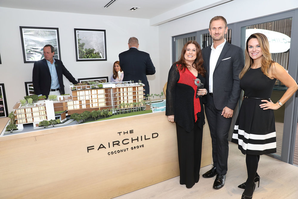 The Fairchild Coconut Grove Sales Team ONE Sotheby's International Realty hosted a broker brunch at The Fairchild Coconut Grove