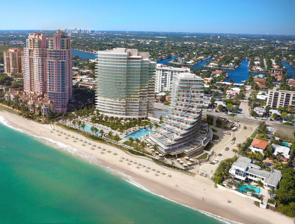Auberge Beach Residences and Spa in Fort Lauderdale Now 90% Sold In North Tower