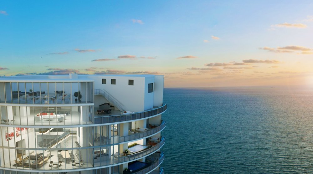 Porsche Design Tower penthouse closes for $25M