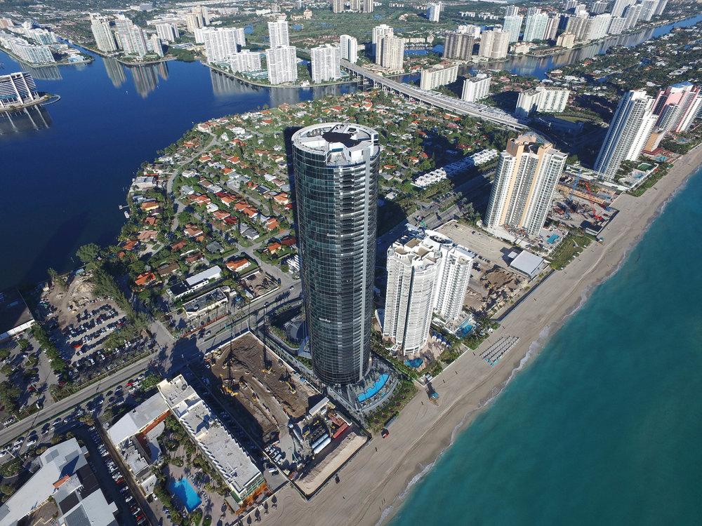 Porsche Design Tower penthouse closes for $25M