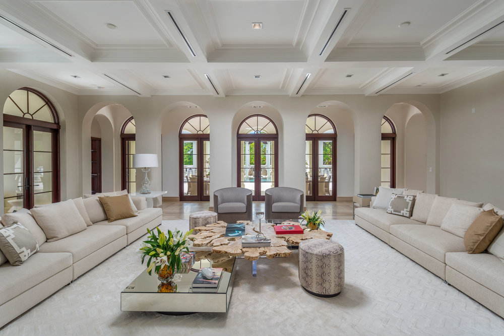 Casa Costanera @ 300 Costanera Road, Coral Gables. Listed by Barbara Estela and Hilda Jacobson of Douglas Elliman for $27.26 Million.  Tour the stunning estate here.
