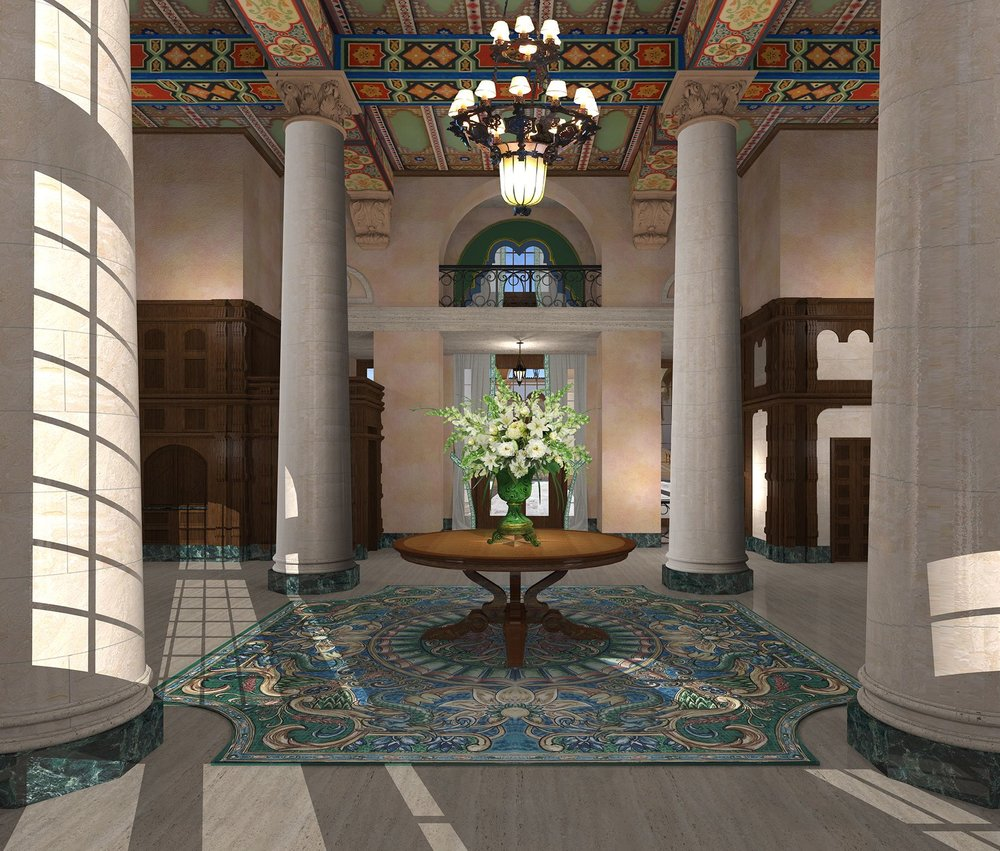 Coral Gable's Historic Biltmore Hotel Releases Renderings of Lobby Renovation