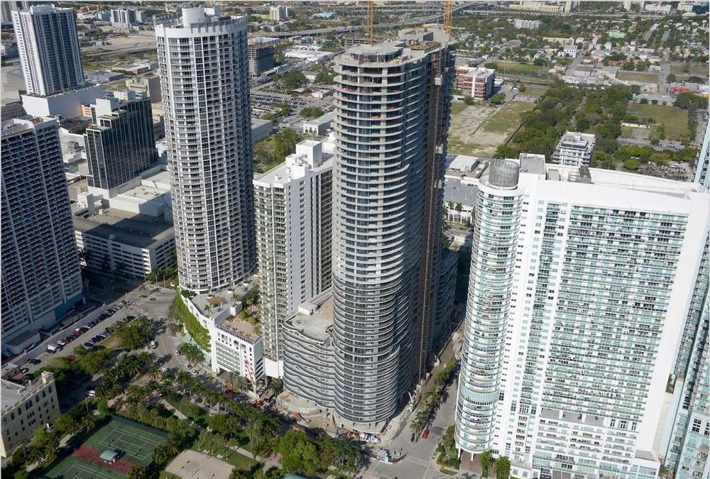 Melo Group's Aria on the Bay Condominium Tops Off Construction at 53 Stories