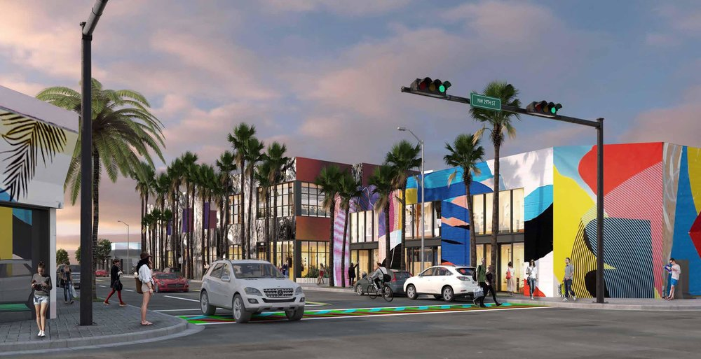 Wynwood Design Review Committee Approves Mixed-Use Wynwood Walk