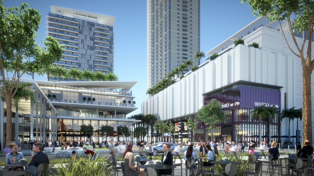 Miami Worldcenter Files Utility Plans, to Feature as Much Restaurant Space as Retail