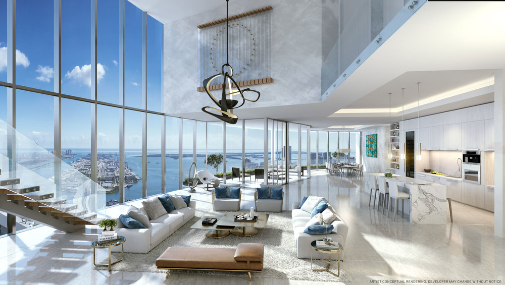 PARAMOUNT Miami Worldcenter Unveils Penthouse Collection