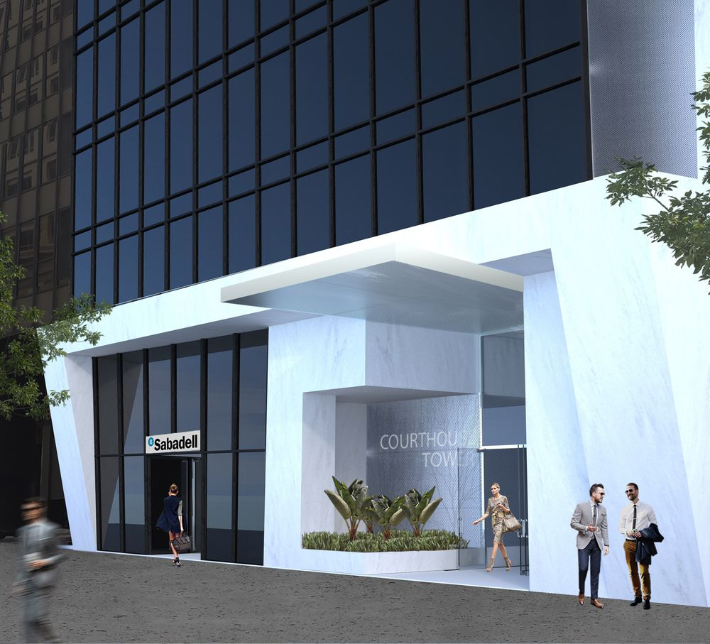 Downtown Miami's Courthouse Tower to get $5 Million Renovation Designed by MKDA