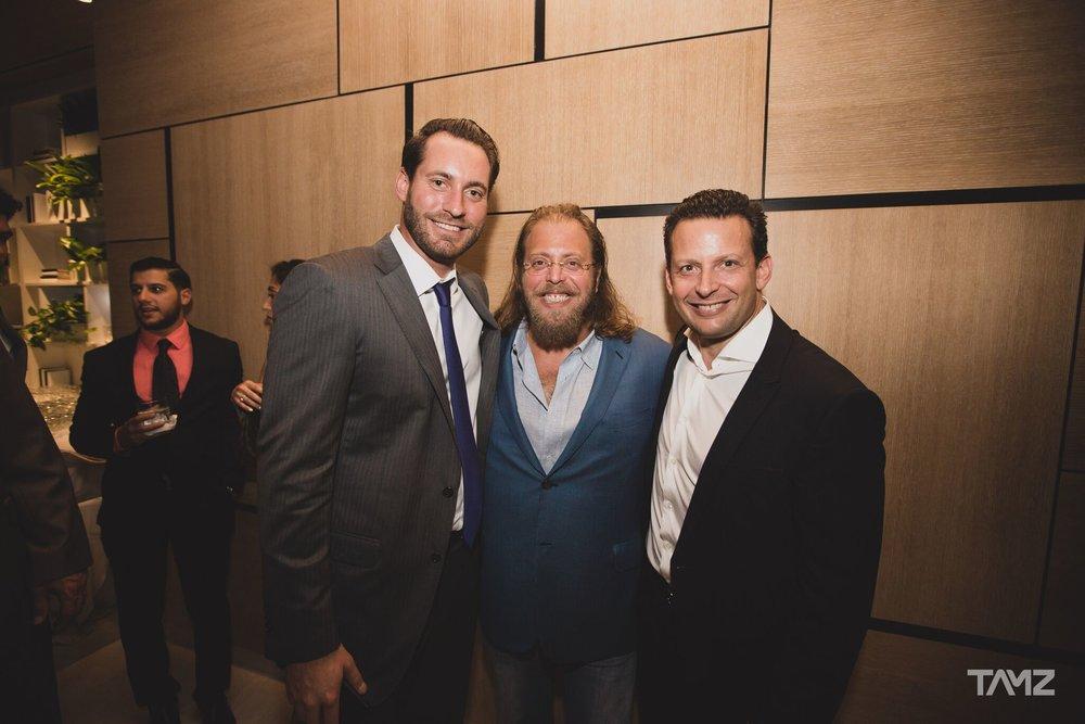 John Paul Perez, Gil Dezer and Eric Fordin