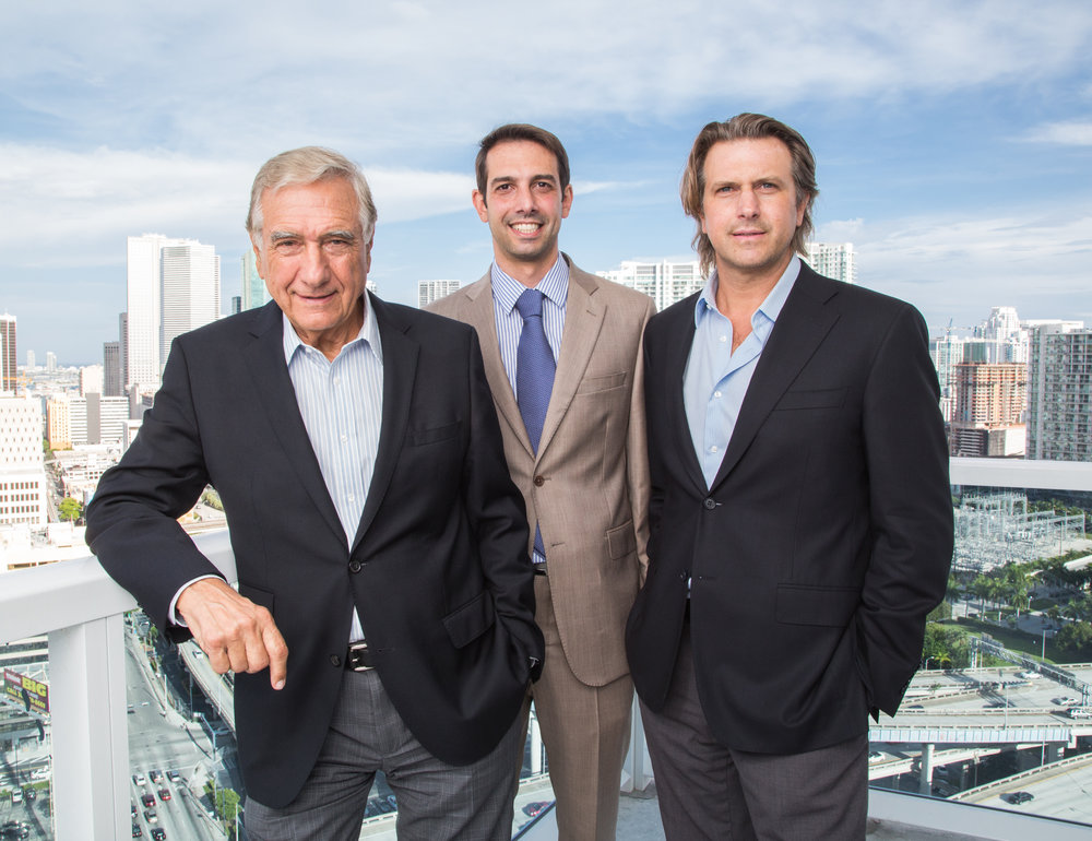 Jose, Martin and Carlos Melo of The Melo Group (L to R)