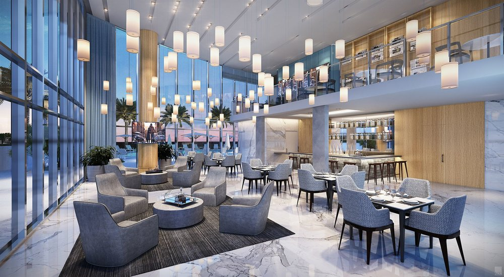 New Renderings Released of Related Group's Icon Las Olas' Amenities & Common Spaces