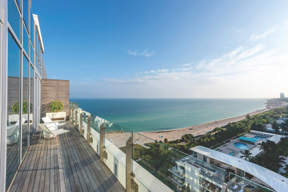 Penthouse 1406 in the Miami Beach Edition has Sold for $5.4 Million