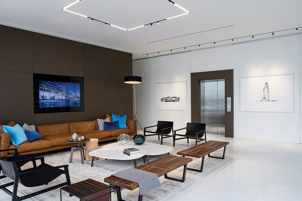 Tour the Newly Opened Sales Gallery at Aston Martin Residences