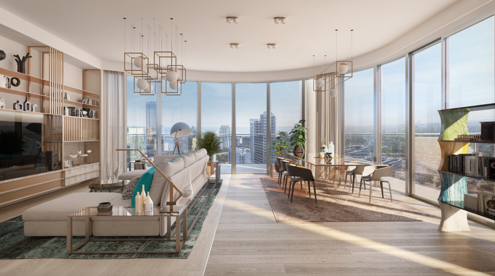 Brickell Flatiron Unveils New Renderings of Their Exclusive Penthouse Collection Series