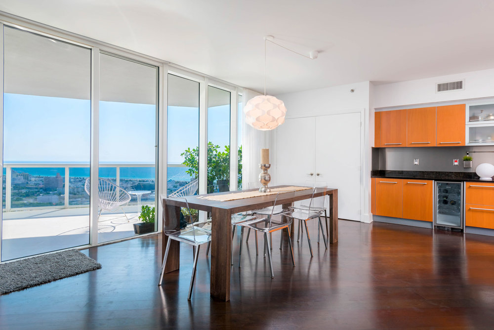 Tour the South-of-Fifth Condo in Murano Grande With Spectacular Views That Just Closed for $3.8 Million