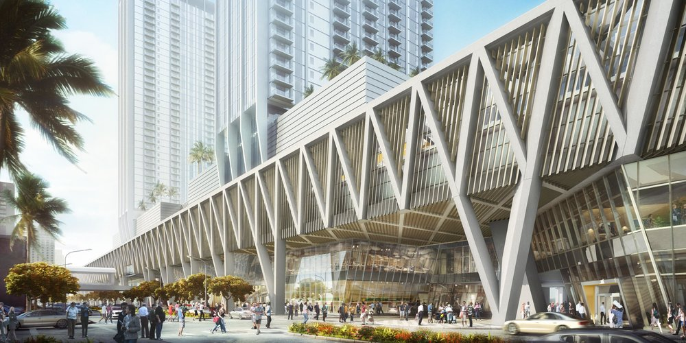 Three MiamiCentral, MiamiCentral's First Office Building, to Open by End of Summer