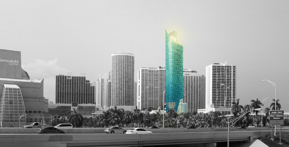 Plans Unveiled for 40-Story Courtyard by Marriott Hotel in Downtown Miami
