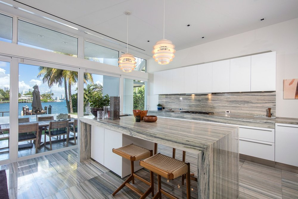 Featured Listing: Modern Waterfront on the Venetian Islands Lists for $15.5 Million