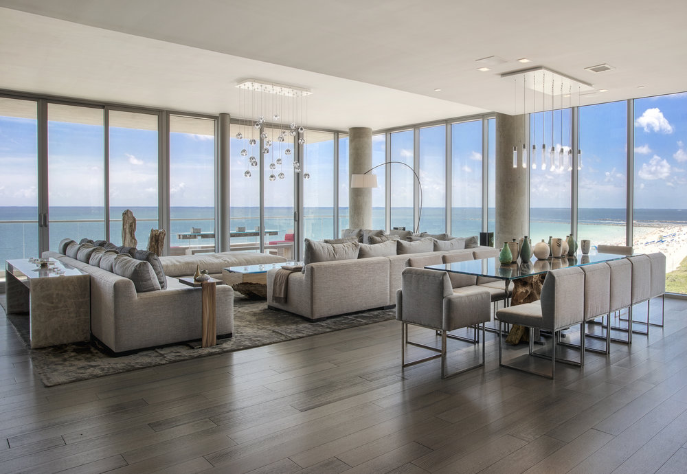 Step Inside The Record Breaking South-of-Fifth Oceanfront Penthouse at 321 Ocean Which Just Sold For $26 Million