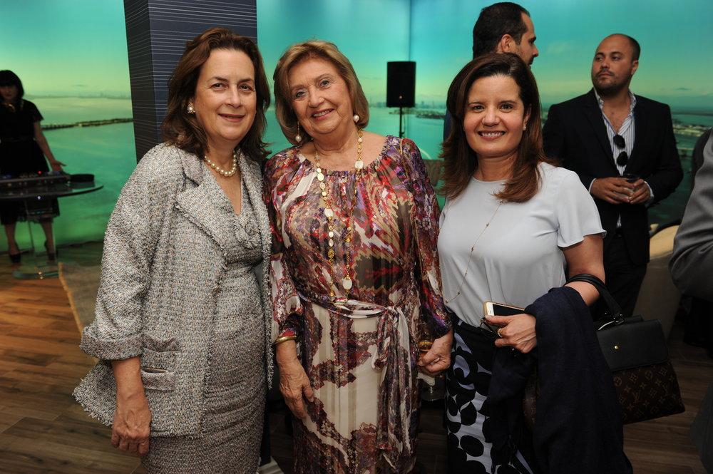 eronica Cervera Goeseke, Alicia Cervera Sr., & Lydia Juliao