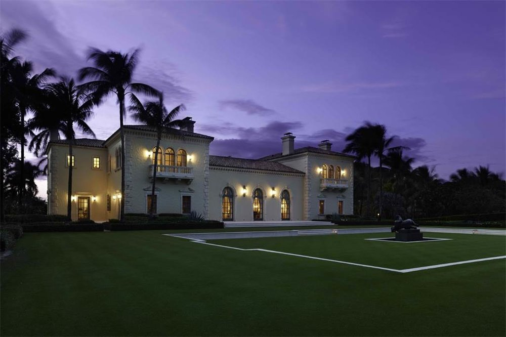 Featured Listing: Walk the Grounds of Palm Beach's $115 Million Estate Il Palmetto, The 2nd Most Expensive Home in Florida