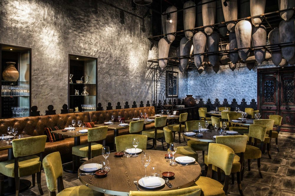 The previous build out of Coya @ 999 Brickell Ave.