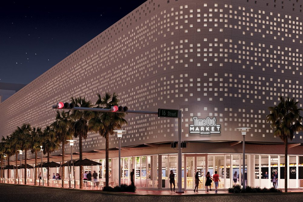 South Beach's First Food Hall Concept, Time Out Market Miami, Is Revealed