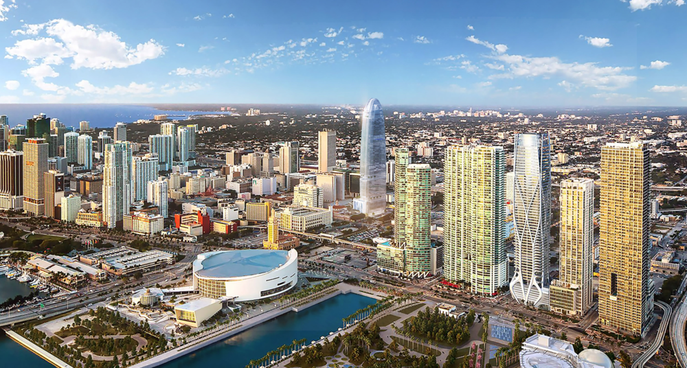 Okan Group Proposes The Sterling, A Mixed-Use, Behar Font-Designed Downtown Hotel Tower