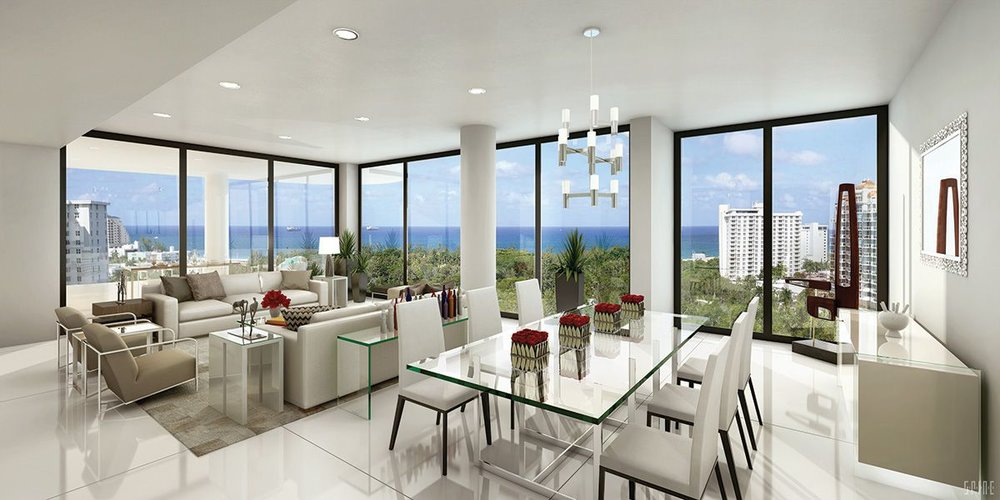 Ocean Land Investment's AquaBlu Tops Off In Fort Lauderdale at Over 70% Sold