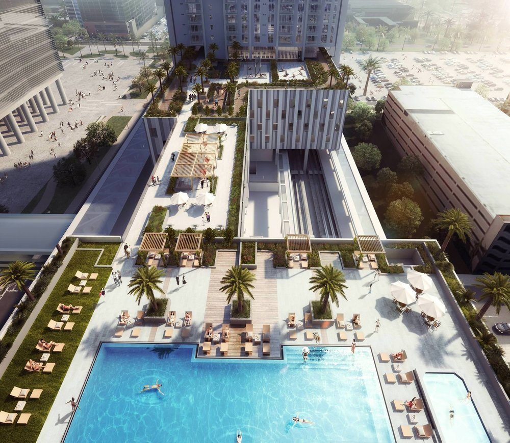 Amenity Deck @ Park-Line Miami