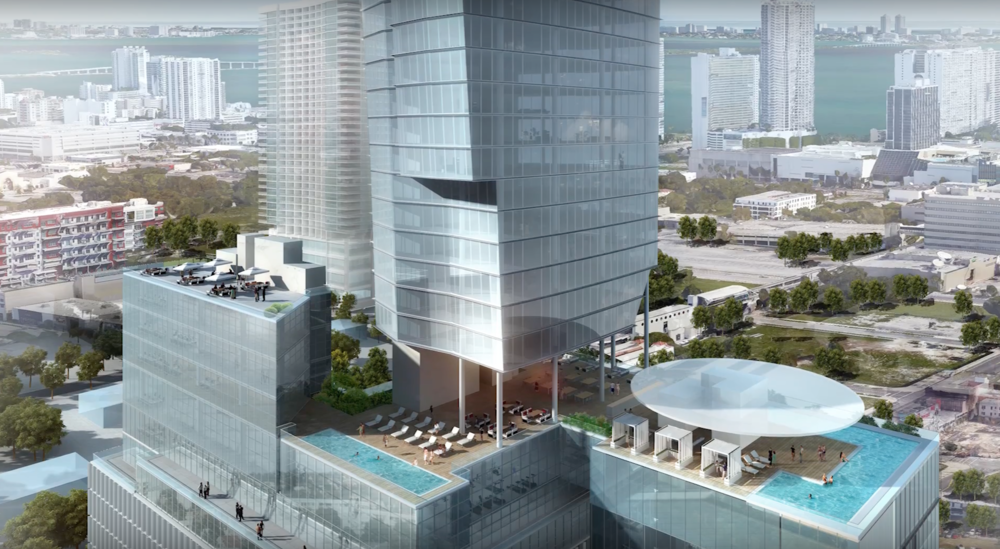 NR Investments Successfully Rezones Plot For Carlos Zapata-Designed Tower in Miami's Arts + Entertainment District