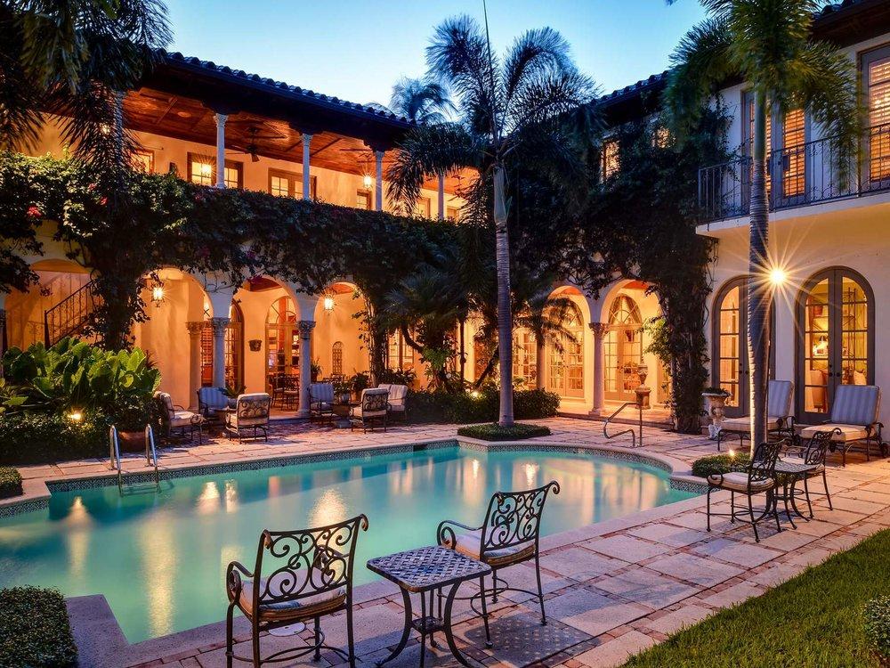 Featured Listing: Tour A Prestigious, Ultra-Luxe Palm Beach Venetian-Inspired Villa