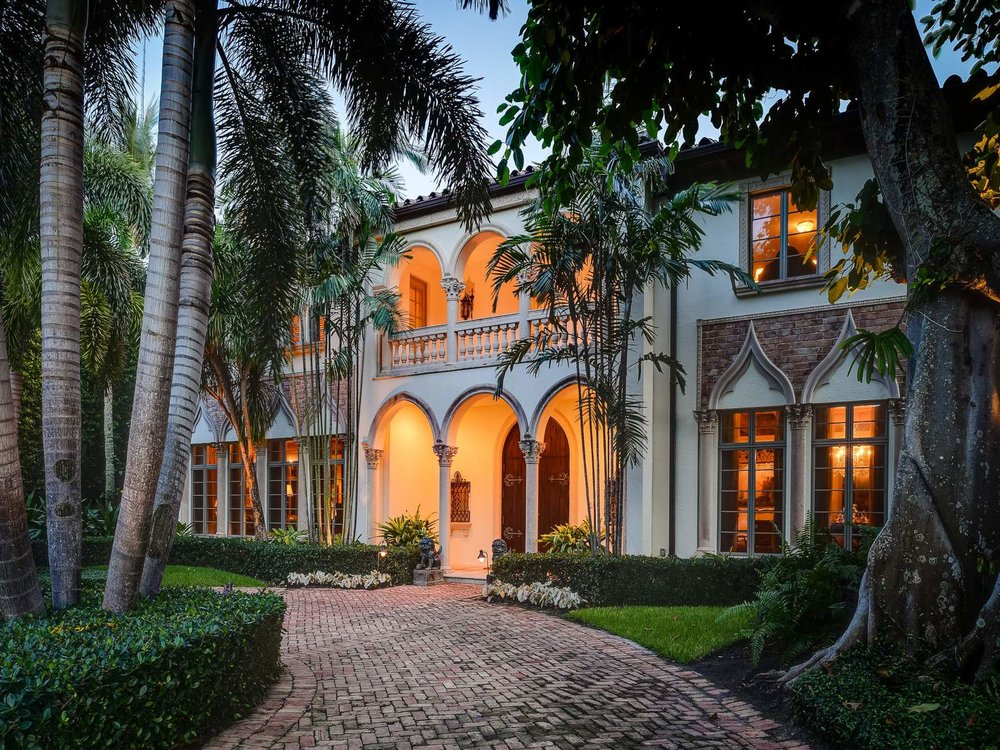Featured Listing: Tour A Prestigious, Ultra-Luxe, Venetian-Inspired Palm Beach Villa Asking $14.25 Milion
