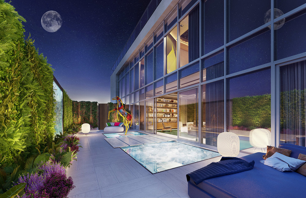 Ritz-Carlton Residences, Miami Beach Reveals Renderings of Doo Architecture-Designed Penthouses