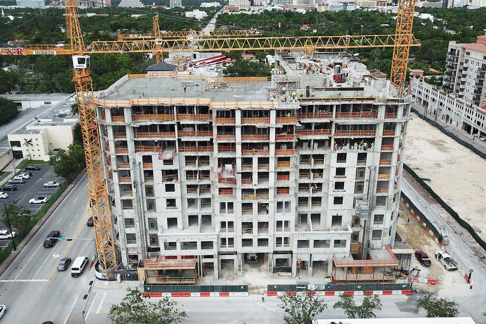 The Astor Companies' Merrick Manor Tops Off Early in Coral Gables' Merrick Park At 55% Sold