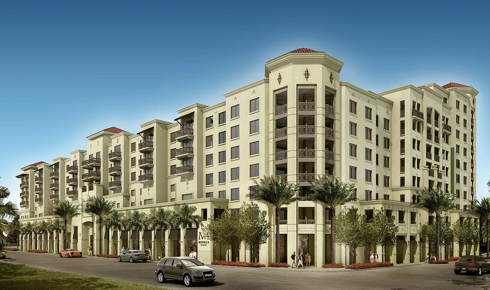 Construction Update: The Astor Companies' Merrick Manor Tops Off Early in Coral Gables' Merrick Park