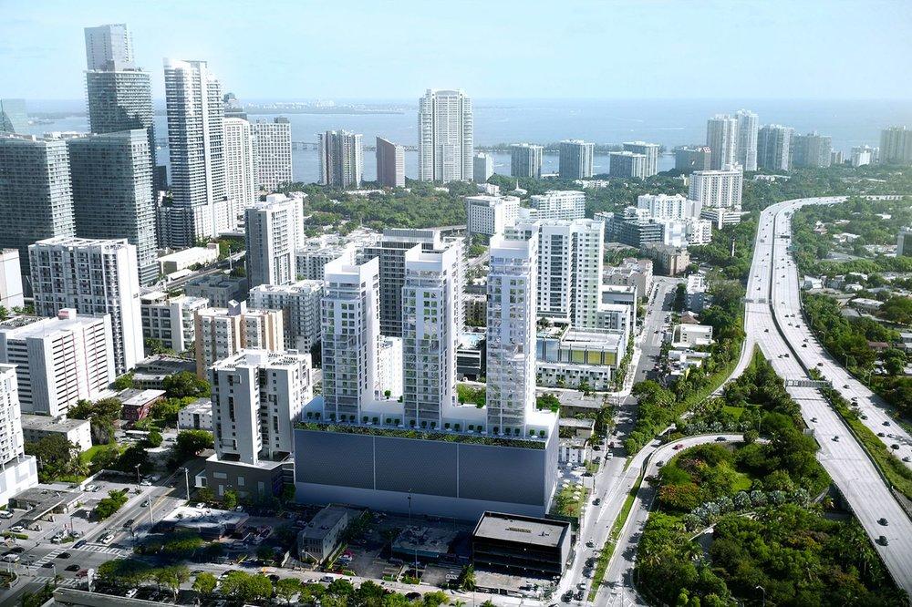 Habitat Development Releases New Renderings of Smart Brickell Condo-Hotel