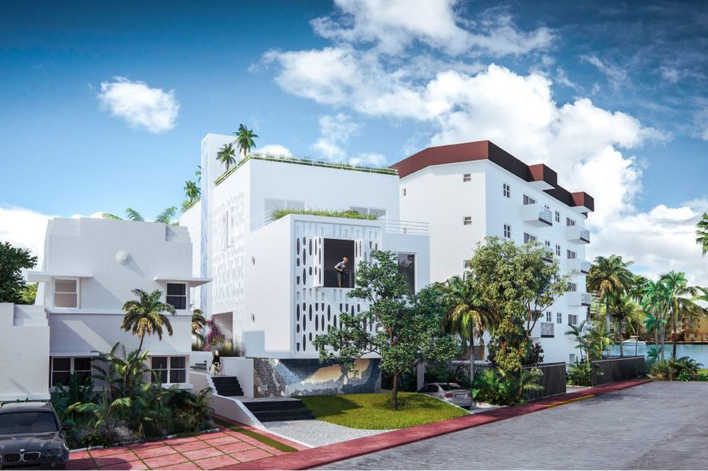 Laure Tirouflet and Jose Carlo-Designed Boutique Hotel Approved on Indian Creek Drive in North Beach
