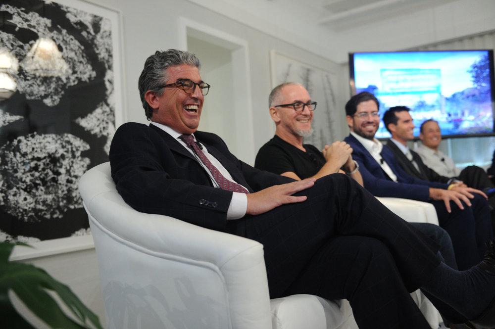 Carlos Rosso, Michael Schwartz, David Martin, Chris Dekker, Michael Comras