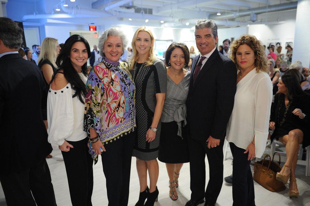 Catalina Martucci, Adriana Pinto-Torres, Allison Goldberg, Cathy Strafaci, Carlos Rosso, & Tracy Ferrer