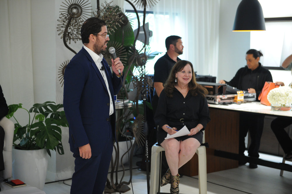 David Martin & Ina Cordle, Park Grove Hosts Panel Discussion On The Future of Coconut Grove With Terra and Related Group