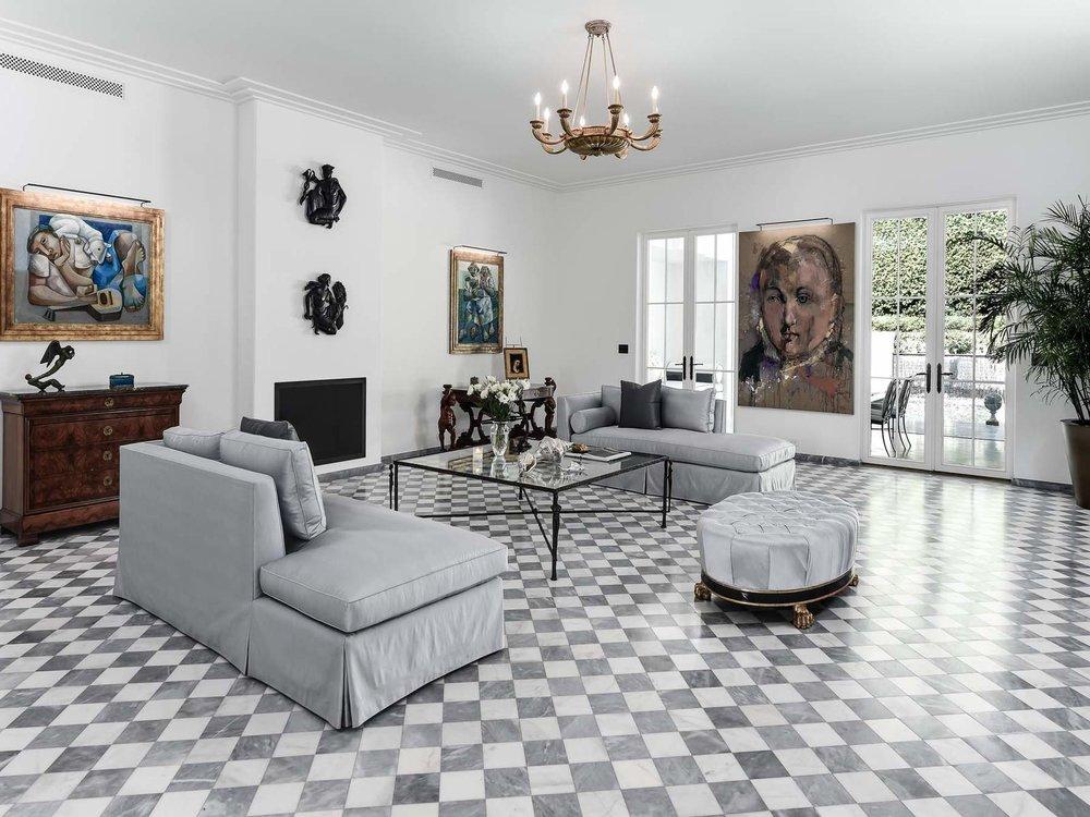 Featured Listing: Tour A Lavish, Regency Moderne Palm Beach Estate Asking $8.395 Million