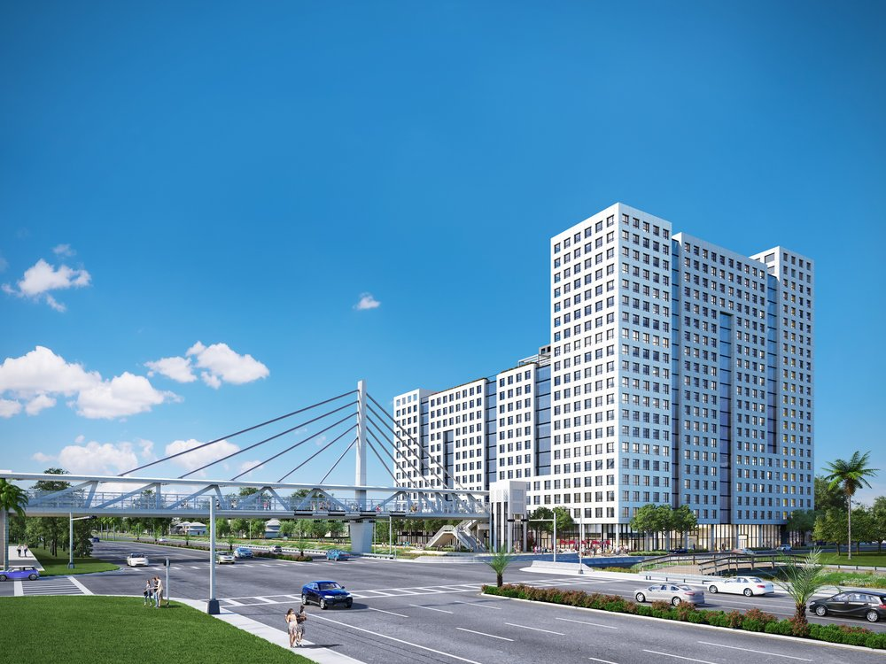 The Arquitectonica-Designed University Bridge Residences Unveils New Renderings