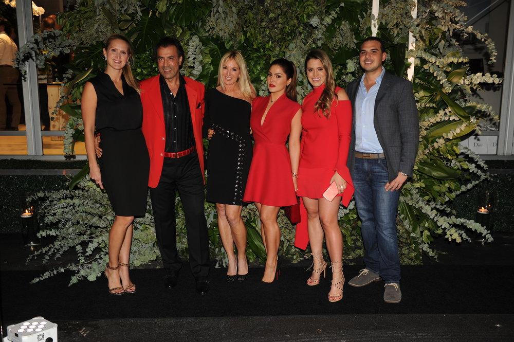 Adriana Echevarria, Masoud Shojaee, Sissy DeMaria, Stephanie Mejia, Kathy Mejia, & Alex Riera