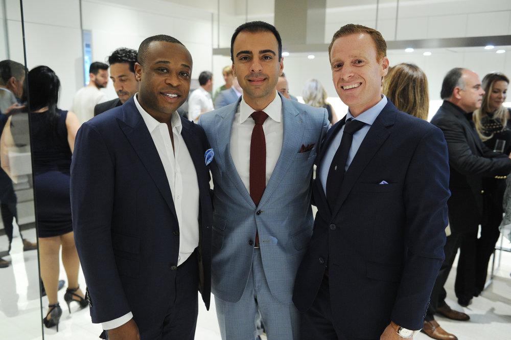Christopher Adeleke, John Parsiani, & Alvaro Garcia